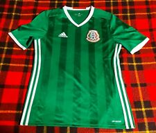 Adidas Mexico National Soccer Team Jersey Kids Youth Sz XL Clima Cool