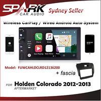 WIRELESS CARPLAY ANDROID AUTO BLUETOOTH USB RADIO FOR HOLDEN COLORADO 2012-13 AD