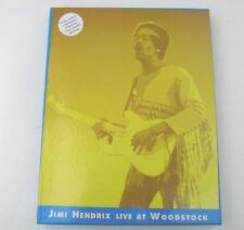JIMI HENDRIX LIVE AT WOODSTOCK - RARE BOX CD+REPLICA PROGRAMME+TICKET+HANDBILL