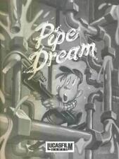 Pipe Dream (aka. Pipe Mania) w/ Manual MAC connect tubes water flow puzzle game!