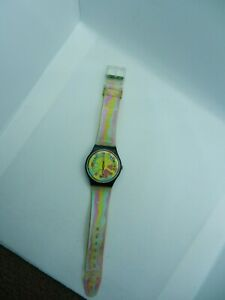 Vintage Swiss 1990's Collectors Swatch Wristwatch New Battery