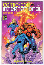 SDCC UPDATE #1 for 2001, NM, Fantastic Four, Human Torch, San Diego Comic Con