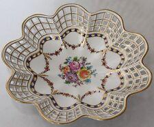 Dresdener Porzellan mit Schalen-mehrarmige