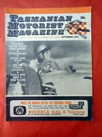 TMM Tasmanian Motorist Magazine Barry Lake September 1966