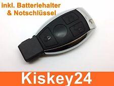 3T Schlüssel mit Batteriehalter Notschlüssel für Mercedes Benz W203 W204 W211