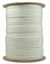 White - 550 Paracord Rope 7 strand Parachute Cord - 1000 Foot Spool