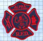 Fire Patch - Alpha Hook & Ladder