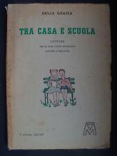 LIBRO ANTICO-LETTURE PER LA TERA ELEMENTARE-ILLUSTRATO-ANNO 1946