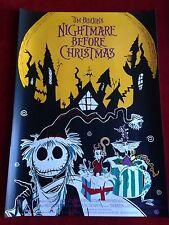 Nightmare before Christmas Kinoplakat Poster A1, Tim Burton, Hochglanz