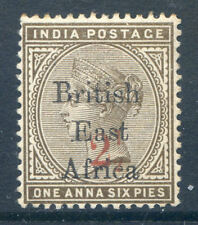 British East Africa Imperial Administration 1895 2½a surcharge (2018/11/05#03)