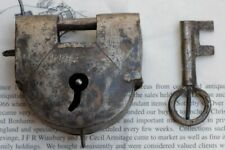 19th century iron lock from the slave trade 1800..