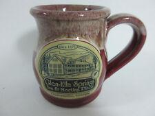 Glen Ella Springs Inn Clarkesville Georgia GA Deneen Pottery Roung Belly Mug