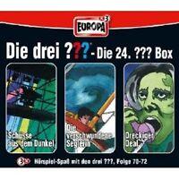 "DIE DREI ??? ""SAMMELBOX 24 FOLGE 70 - 72"" 3 CD NEU"
