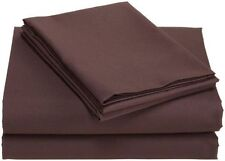 NEW Divatex Microfiber Twin XL Sheet Sets  Dark Chocolate