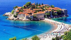 Photo Picture Montenegro Sveti Stefan Island 1 pcs Tourist Famous Place