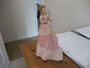 Beautiful Wedgwood Figurine Enchanted Evening By Pauline Parsons 1988