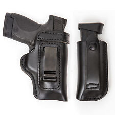 COMBO PACK IWB OWB RH LH Gun Holster & Mag For Ruger P85 P89 P90 P91