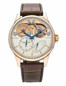 Zenith Academy Georges Favre-Jacot Manual Gold Mens Watch 18.2210.4810/01.C713