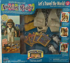 "Amazing Alley Interactive Play Set-""Let'S Travel The World""-Shelf Wear-Dents-New"
