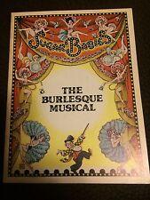 Sugar Babies The Burlesque Musical Large Souvenir Book 1979 Ann Miller Mickey R