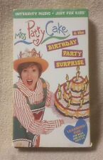 MISS PATTY CAKE & the Birthday Party Surprise VHS Children's Christian Video VGC