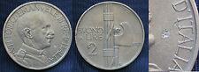 MONETA COIN REGNO D'ITALIA REGNO RE VITTORIO EMANUELE III° BUONO 2 LIRE 1925  #1