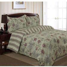 Divatex Home Fashions Printed Waterflower Bedding Duvet Mini Set Twin