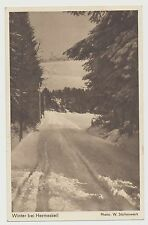 AK Winter bei Hermeskeil (A802)