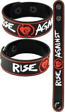 Rise Against New! Bracelet Wristband aa129 Black/Endgame