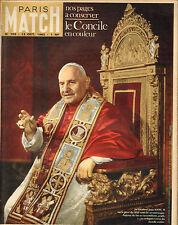 PARIS MATCH N°705 le concile jean XXIII sonny liston kim novak bernard & jazy