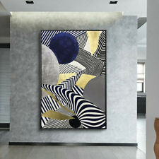 VV906 Simplicity abstract Geometric figure oil painting Hand-painted on canvas