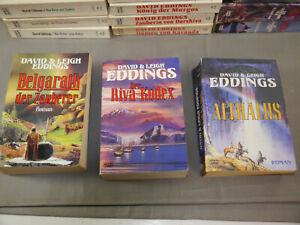 David Eddings14 vers. Bücher Elenium Saga Tamuli Saga Malloreon u.a  Bastei WR4