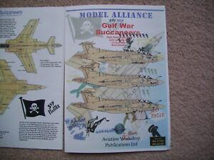 Model Alliance 1:72 Decals Gulf War Buccaneers #MA-72100