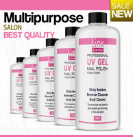 UV Nail Gel Finishing Wipe,  Sticky Residue Remover,  Cleanser,  Brush Cleaner
