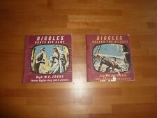 BIGGLES HUNTS BIG GAME AND BIGGLES BREAKS THE SILENCE POCKET BOOKS