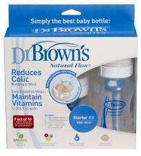 Dr. Brown's Newborn Flow 260ml/ 9oz. Baby Bottles