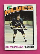1976-77 OPC # 38 BLUES BOB MACMILLAN ROOKIE EX+ CARD (INV# C3228)