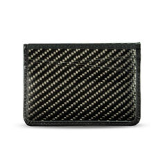 Real Carbon Fiber Card and Cash Holder, Mini Wallet, Minimalist Wallet