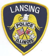 **LANSING ILLINOIS POLICE PATCH**