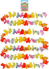 9ft Lei Flower Garland Hawaiian Tropical Beach Banner / Garden Party Decoration