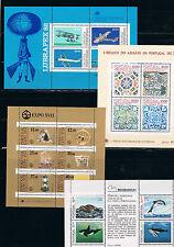 Portugal.Conjunto de Hojas Bloques nuevas y diferentes. Valor de catalogo 65 Eur