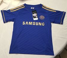 Adidas Chelsea Football Club Blue SOCCER JERSEY Children's Size 22 NWT