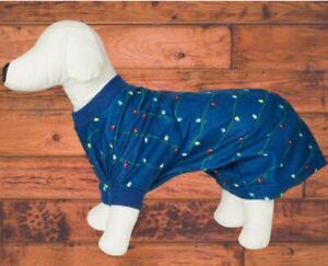Matching Pet Fleece Navidad Family Pajamas,  Large