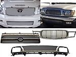 BIL-TO-15  Grille 1992-1995 TOYOTA PICKUP Insert 1Pc Toy 4Wd 92-94 Only