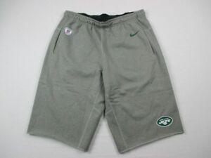 New York Jets Nike Shorts Men's Gray Dri-Fit Used Multiple Sizes