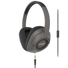Koss UR42i Over Ear Headphones built in splitter and microphone - Black
