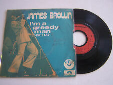 SP 2 TITRES 45T VINYL . JAMES BROWN , AIN ' T THAT A GROOVE . POLYDOR 27 781 .