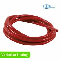 Turbo Rubber Tube Air Water Pipe 5mm 1 Metre White Silicone Vacuum Hose