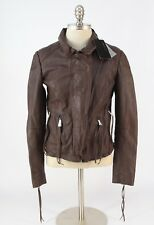 *NEW* w/tags $450 Muubaa Leather Moto Jacket size 4