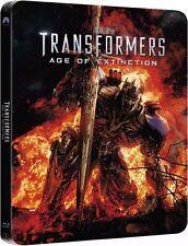 TRANSFORMERS 4: ÄRA DES UNTERGANGS (Blu-ray Disc, Steelbook U.K.) NEU+OVP